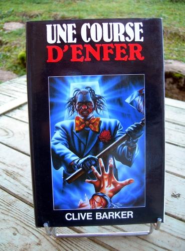 clive barker,livres de sang,livre de sang,une course d'enfer,fantastique,terreur