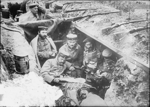 A-quiet-moment-in-the-German-trenches-–-photo-courtesy-Library-of-CongressBain-Collection-US.jpg