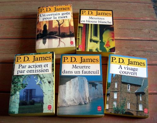 P.D. JAMES, Phyllis Dorothy JAMES, Adam Dalgliesh, Scotland Yard, polars, romans policiers, polars anglais