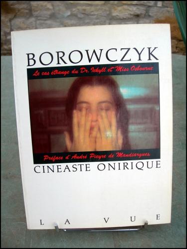walerian borowczyk,borowczyk cinéaste onirique,le cas étrange du dr.jekyll et miss osbourne,livre d'art,photographie,cinéma,érotisme