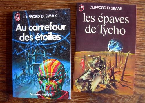 clifford d. simak,demain les chiens,au carrefour des étoiles,science fiction,s.f