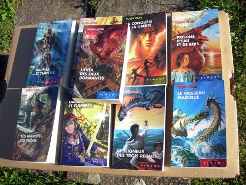 robin hobb,les aventuriers de la mer,cycle des aventuriers de la mer,saga,heroic-fantasy,fantasy,terrilville,vivenefs,vivacia,althéa vestrit,brashen trell,capitaine kennit,royaume des six-duchés