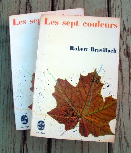 robert brasillach,les sept couleurs,fascisme,nazisme,entre-deux-guerres