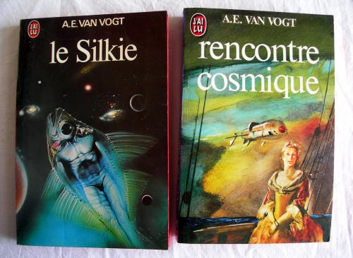 alfred elton van vogt,a.e van vogt,rencontre cosmique,armureries d'isher,destination univers,créateurs d'univers,rull,guerre contre le rull,le silkie,le colosse anarchique,science-fiction,j'ai lu,poche,poches