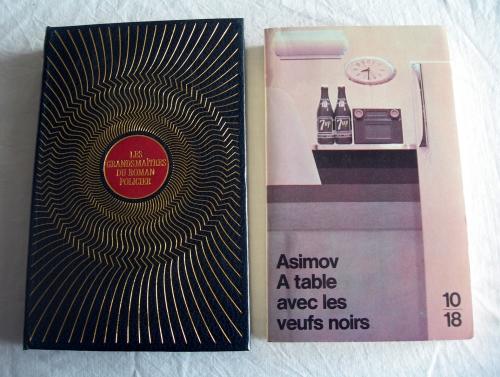 isaac asimov,a table avec les veufs noirs,cycle des veufs noirs,veufs noirs,une bouffée de mort,polars,romans policiers