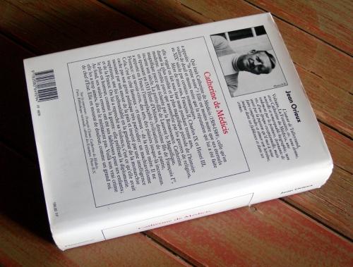 jean orieux,biographies,histoire,catherine de medicis,laurent le magnifique,henri d'orléans,françois 1er,medicis,histoire de france