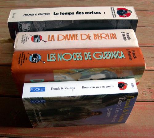 frank & vautrin,boro,les aventures de boro,blèmia borowicz,entre-deux-guerres