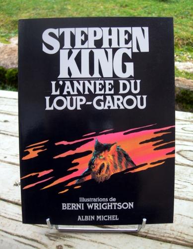 stephen king,berni wrightson,l'année du loup-garou,livre illustré,albin michel,édition originale,loup-garou,loups-garous,lycanthropie,fantastique,terreur