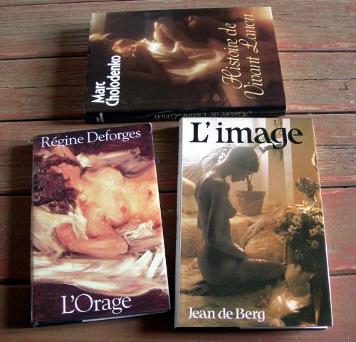 lola beccaria,marc cholodenko,jean de berg,régine deforges,guillaume fabert,john flaherty-cox,l'orage,histoire de vivant lanon,romans érotiques,érotisme,littérature érotique