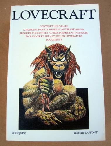 h.p lovecraft l'intégrale tome 2,robert laffont 1991,l'horreur dans le musée,fungi de yuggoth,épouvante et surnaturel en littérature,robert blach,lovecraft,h.p lovecraft,august derleth,nyarlathotep